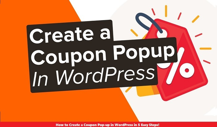 How to Create a Coupon Popup in WordPress in 5 Easy Steps