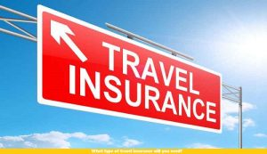 What type of travel insurance will you need